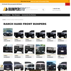 Ranch Hand Front Bumpers