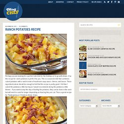 Ranch Potatoes Recipe | Free Online Recipes | Free Recipes - StumbleUpon