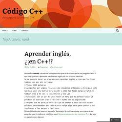 Código C++