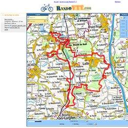 Rando VTT : Trace GPS de randonnee Sortie Boel et laillé
