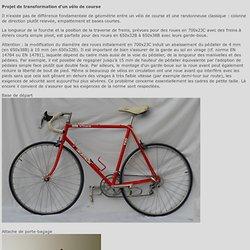 la Randonneuse 650B pour le voyage à vélo