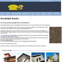 Randolph Roofer