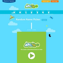Random Name Picker
