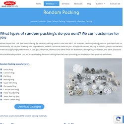 Random Packing Manufacturers