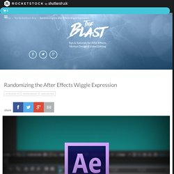 Randomizing the After Effects Wiggle Expression