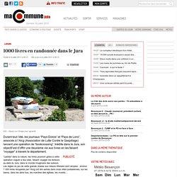 Loisirs, : 1000 livres en randonnée dans le Jura actualité Besançon Franche-Comté