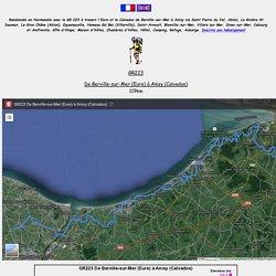 GR223 Randonnée de Berville-sur-Mer (Eure) à Anisy (Calvados)