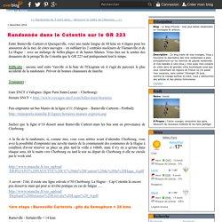 Randonnée dans le Cotentin sur le GR 223 - Le blog d'Hunza : mes plus belles randonnées en montagne et ailleurs