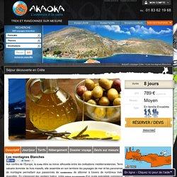 Voyage Crete, randonnée encadree dans les Montagnes Blanches