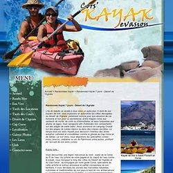 Randonnée Kayak 7 jours - Désert de l'Agriate