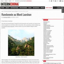 Randonnée au Mont Laoshan