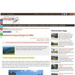 Randonnée le long des Gorges de l'Allier