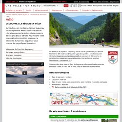Vélo - Randonnée et observation - Sports et plein air - Activités et attraits - Ville de Saguenay