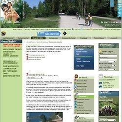 Randonnée pédestre, balade, circuit, sentier, promenade sur Lyon - Grand Parc Miribel Jonage