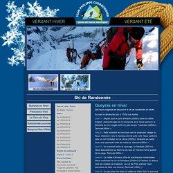Ski de randonnée - Queyras en hiver - Tour et Panorama du Viso