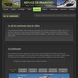 Ski de randonnée et raquette à partir du Refuge du Prariond