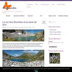 Randonnée au col des Rochilles et vers la série de lacs Vallée de la Clarée - Alpes