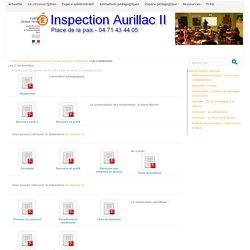 Les 2 randonnées - Inspection départementale Aurillac 2
