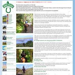 Randonnées équestres en Irlande - Escapades équestres sans guide à travers Sligo et Donegal