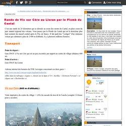 Rando de Vic sur Cère au Lioran par le Plomb du Cantal - Le blog d'Hunza : mes plus belles randonnées en montagne et ailleurs