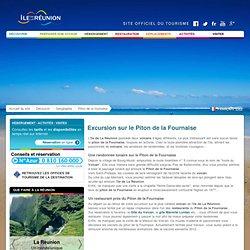Ile de La Réunion Tourisme : voyage, séjour, hôtel et réservation - Piton de la Fournaise : randonnées, restauration, Maison du Volcan