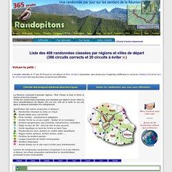 Randonnées à la Réunion - 365 circuits