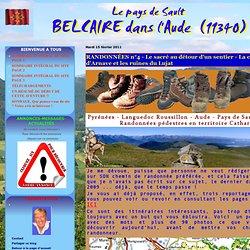 RANDONNÉES n°4 - Le sacré au détour d'un sentier - La chapelle d'Arnave et les ruines du Lujat - Jean-Pierre