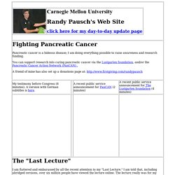 Randy Pausch's Home Page