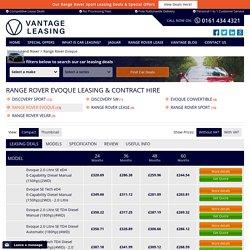 Range Rover Evoque Leasing