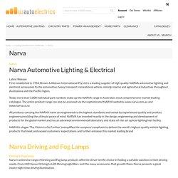 Buy Full Range of Narva Parts Online Ozautoelectrics.com