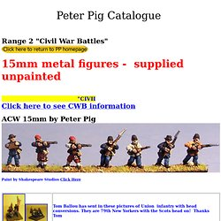 Range2 - Peter Pig 15mm American Civil War
