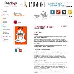 Rangement detox - Alexandra VIRAGH