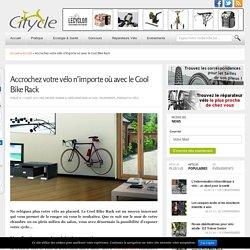 Le Cool Bike Rack : ranger son vélo avec originalité