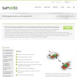 SEWIO – UWB Ranging Evaluation and Development Kit