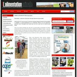REVUE DE L ALIMENTATION ANIMALE 25/08/11 Raniculture : naissance du premier élevage industriel de grenouilles
