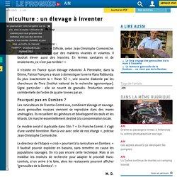 LE PROGRES 23/11/15 Raniculture : un élevage à inventer