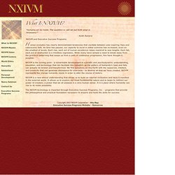 Keith Raniere and Nancy Salzman offer Executive Success Programs at NXIVM