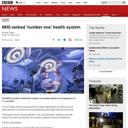 NHS ranked 'number one' health system