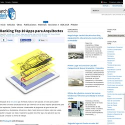 Ranking Top 10 Apps para Arquitectos