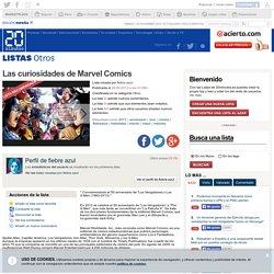 Ranking de Las curiosidades de Marvel Comics
