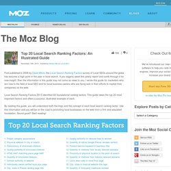 Top 20 Local Search Ranking Factors: An Illustrated Guide