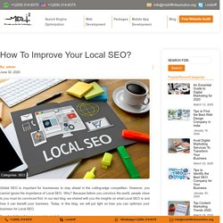 Local SEO Tips For Higher Ranking - Midriff Info Solution