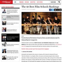 The 25 Best Film Schools Rankings