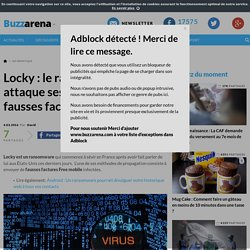 Locky : le ransomeware qui attaque ses victimes via de fausses factures Free mobile