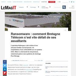 Ransomware : comment Bretagne Télécom s'est vite défait de ses assaillants