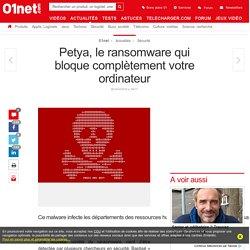 Petya, le ransomware qui bloque complètement votre ordinateur