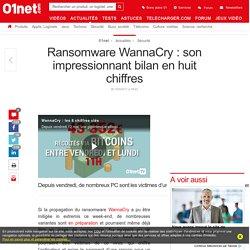 Ransomware WannaCry : son impressionnant bilan en huit chiffres