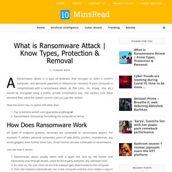 Know Types, Protection & Removal