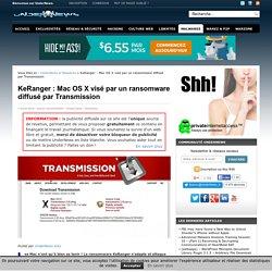 KeRanger : Mac OS X Visé Par Un Ransomware Diffusé Par Transmission