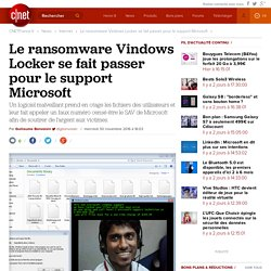 Le ransomware Vindows Locker se fait passer pour le support Microsoft